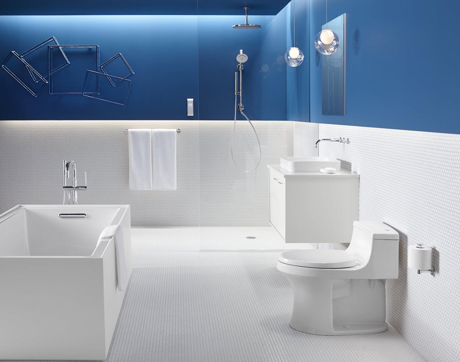 A Modern Bathroom Design